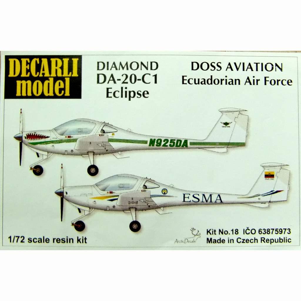 【新製品】DECARLI model 18 ダイヤモンド DA-20-C1 エクリプス