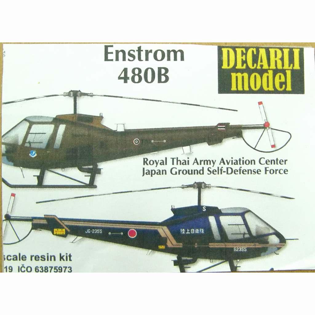 【新製品】DECARLI model 19 エンストロム 480B 陸上自衛隊