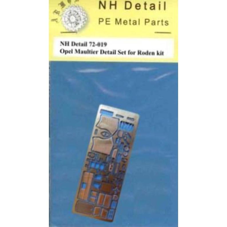 【新製品】NHディテール M72-019 Sd.Kfz.3 オペルマウルティア ディテールセット