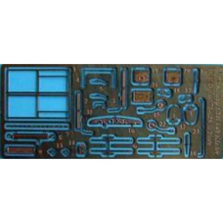 【新製品】NHディテール M72-025 クルッププロッツェ Kfz.69 L2H143 ディテールセット