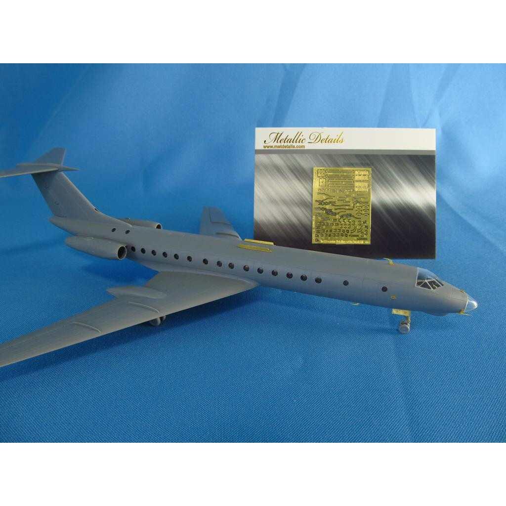 【新製品】メタリックディテールズ MD14426 ツポレフ Tu-134 外装 ディテールアップセット