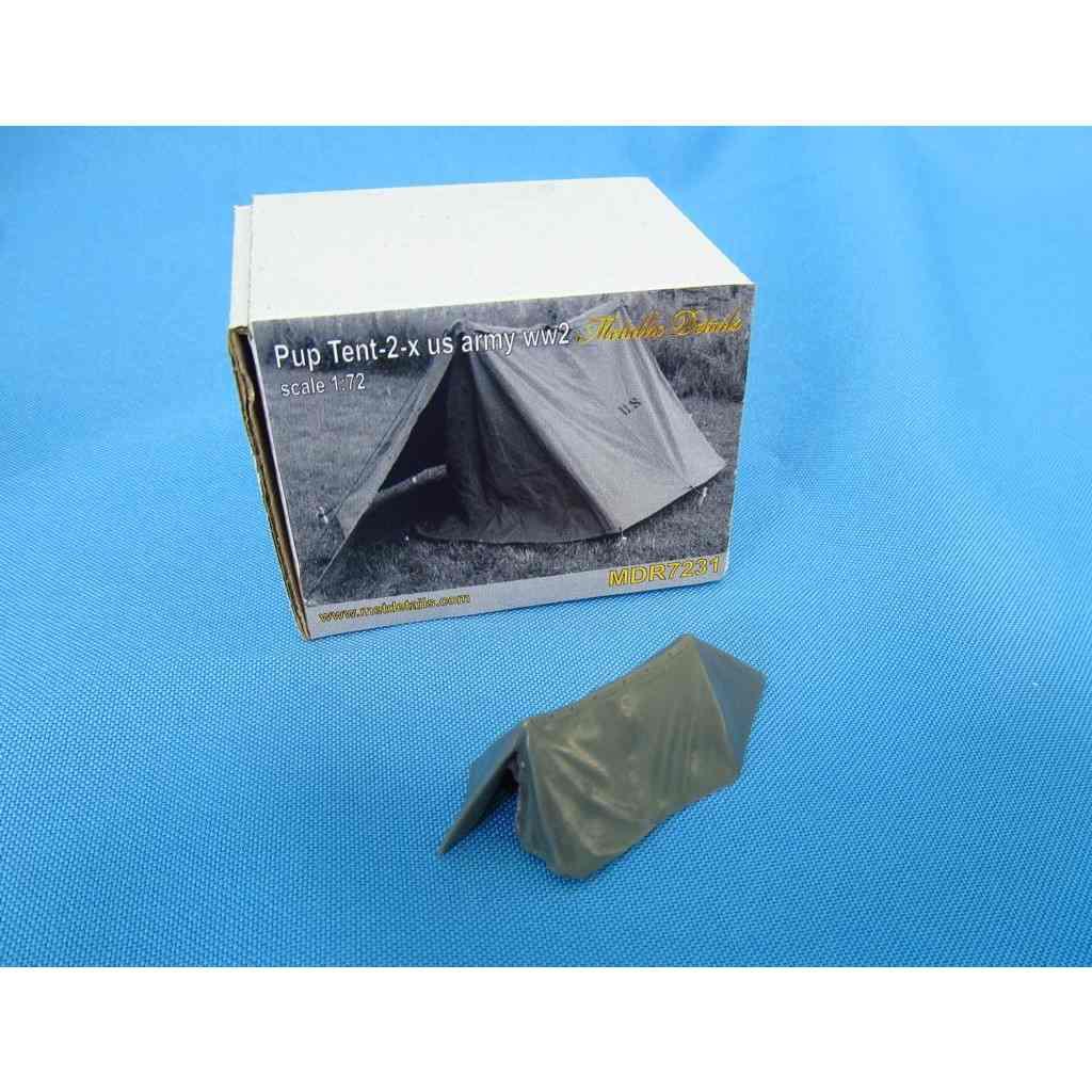 【新製品】メタリックディテールズ MDR7231 WWII  米陸軍 パップテント2