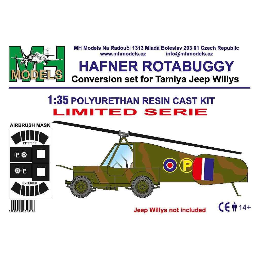 【新製品】MHモデルズ M35001 ハフナー ロータバギー改造キット