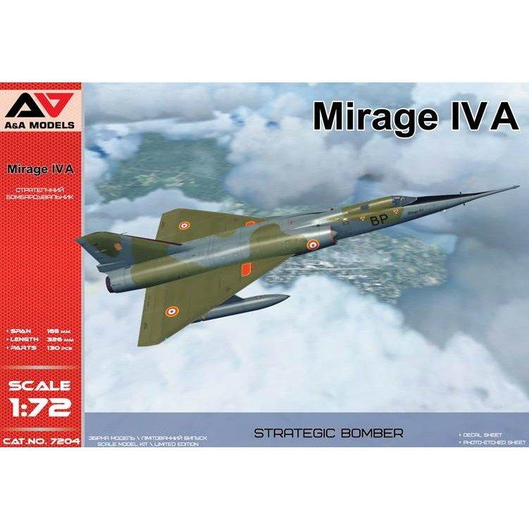 【新製品】A&Aモデル 7204 ミラージュIVA 超音速戦略爆撃/偵察機