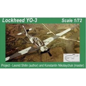 【新製品】クロコ 72007 ロッキード YO-3 「クワイアト・スター」偵察機
