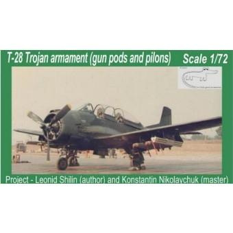 【新製品】クロコ A72011 T-28 トロージャン 武装セット