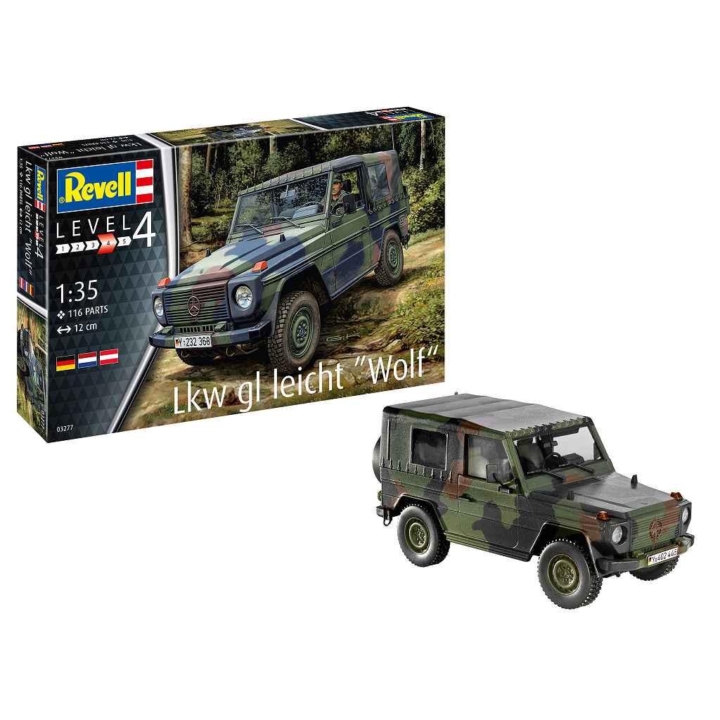 【新製品】03277 LKW 軽車両 ウルフ