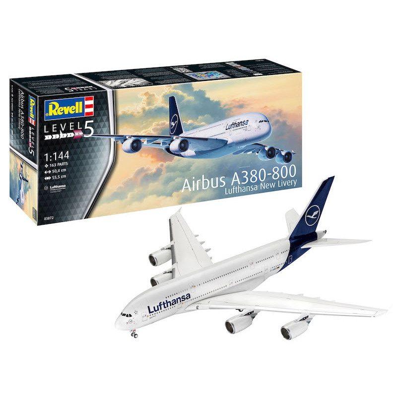 【新製品】03872 エアバス A380-800 ルフトハンザ New Livery