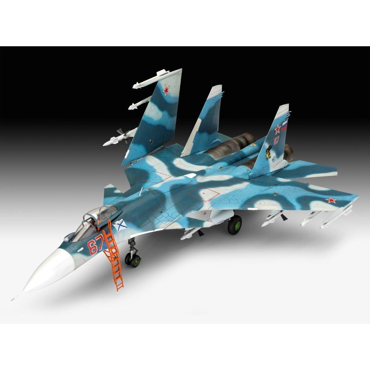 【新製品】03911 スホーイ Su-33 フランカーD