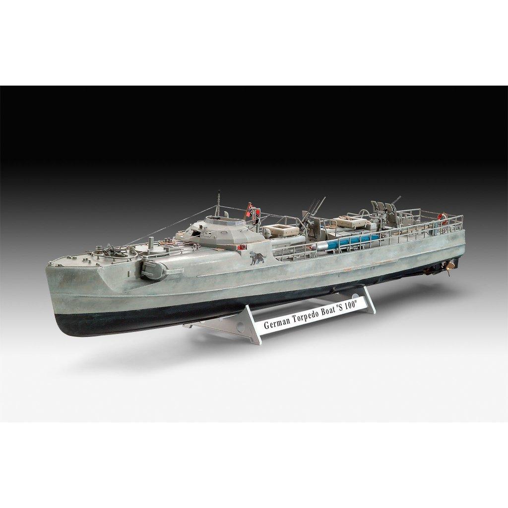 【新製品】05162 ドイツ魚雷艇 S-100