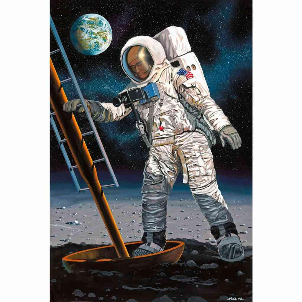 【新製品】03702 アポロ 11 月面着陸宇宙飛行士