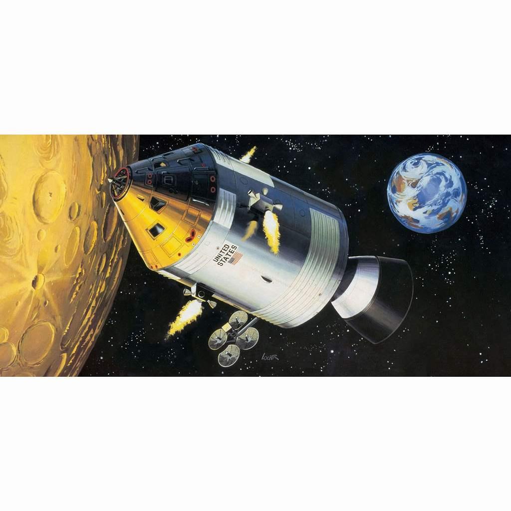 【新製品】03703 アポロ 11 宇宙船 w/インテリア