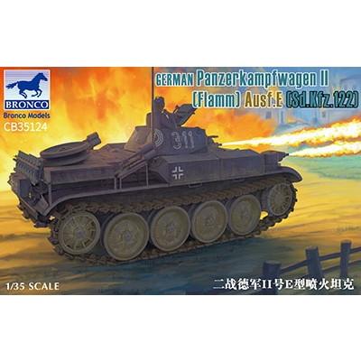 【新製品】CB35124 独 II号E型火炎放射戦車 フラミンゴ 湿式履帯