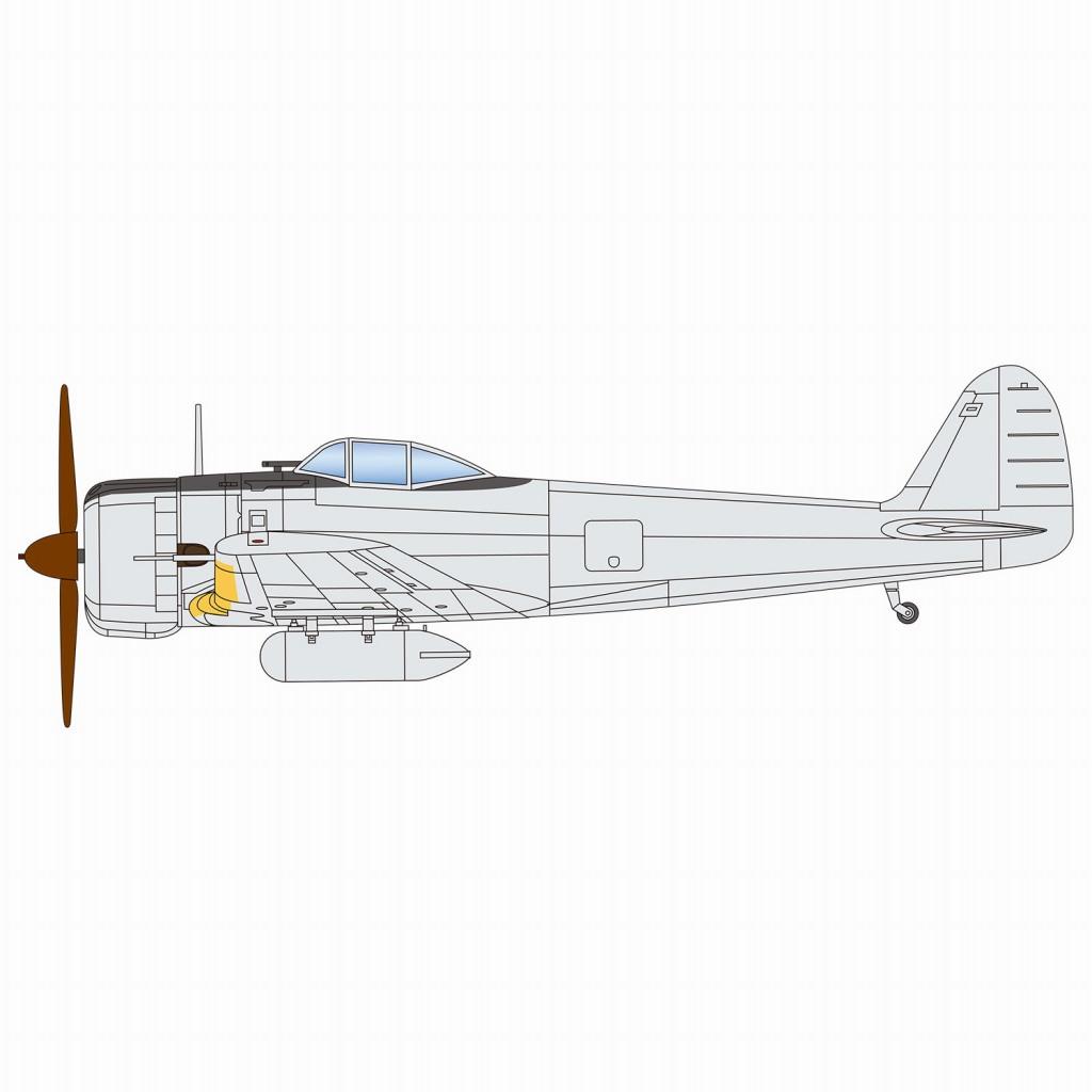 【新製品】PDR-7 陸軍一式戦闘機 隼I型(2機セット)