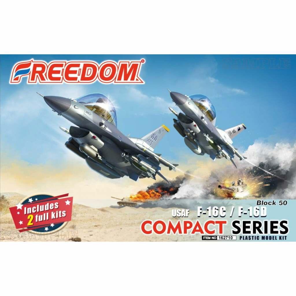 【新製品】162710 コンパクトシリーズ:USAF F-16C/F-16D Block 50