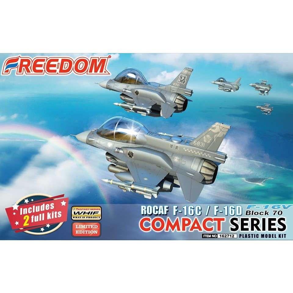 【新製品】162712 コンパクトシリーズ:ROCAF F-16C/F-16D ブロック70 F-16V 「ヴァイパー」