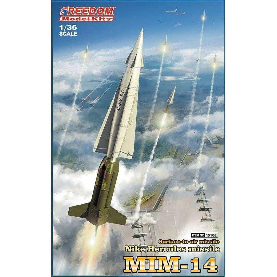 【新製品】15106 MIM-14 ナイキ・ハーキュリーズ 地対空ミサイル (インターナショナルVer.)