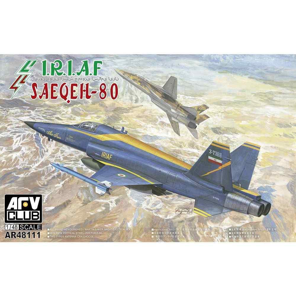 【新製品】AR48111 イラン戦闘機 サーエゲ80