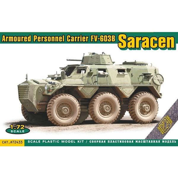 【新製品】72433 FV-603B サラセン 6輪装甲兵員輸送車