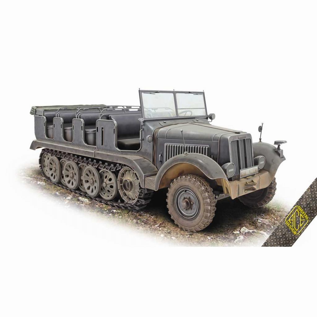 【新製品】72567 WWII 独 Sd.kfz.6 5tハーフトラック 工兵タイプ