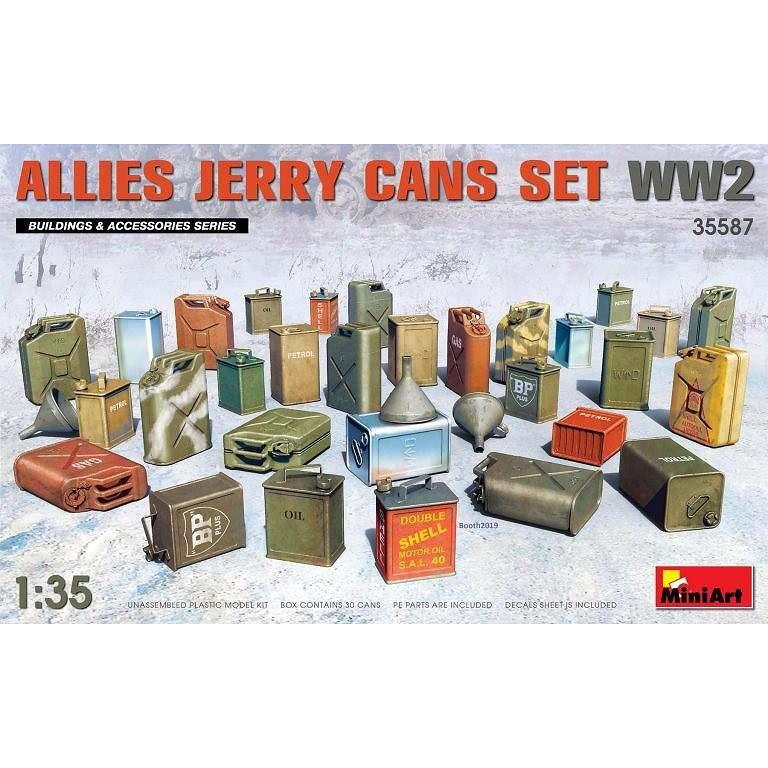 【新製品】35587 連合国 ジェリ缶セットWW2