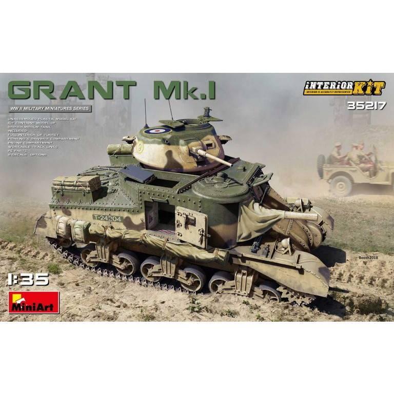 【新製品】35217 グラント Mk.I フルインテリア(内部再現)