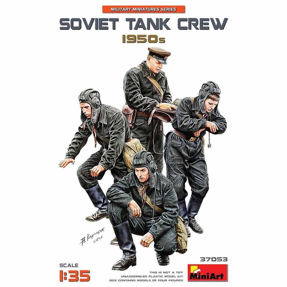 【新製品】37053 ソビエト戦車兵 1950年代 4体入