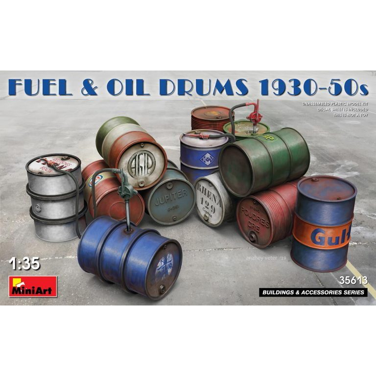 【新製品】35613 燃料&ドラム缶1930-50Sセット