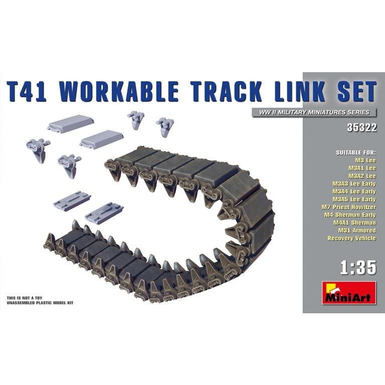 【新製品】35322 T41履帯セット(連結式)