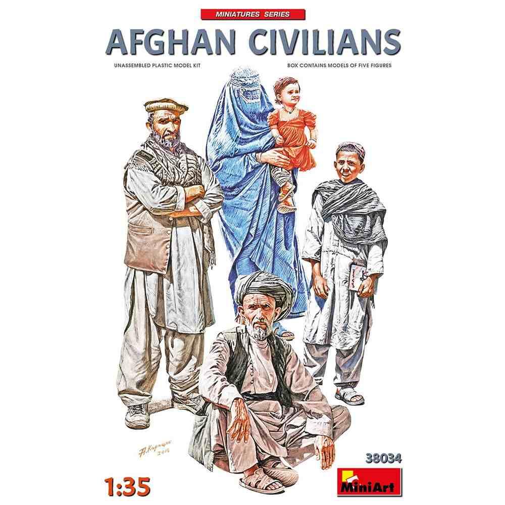 【新製品】38034 アフガニスタンの市民(5体入)