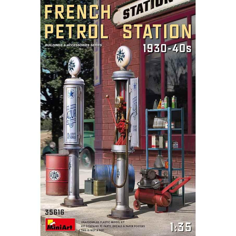 【新製品】35616 フランス給油所1930-40年代
