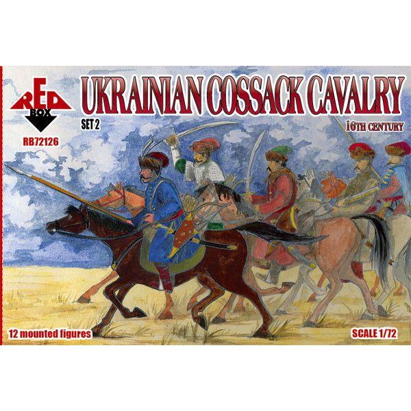 【新製品】72126 16世紀 ウクライナ コサック騎兵2