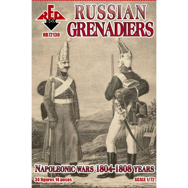 【新製品】72130 ナポレオン戦争 ロシア擲弾兵 1804-1808年