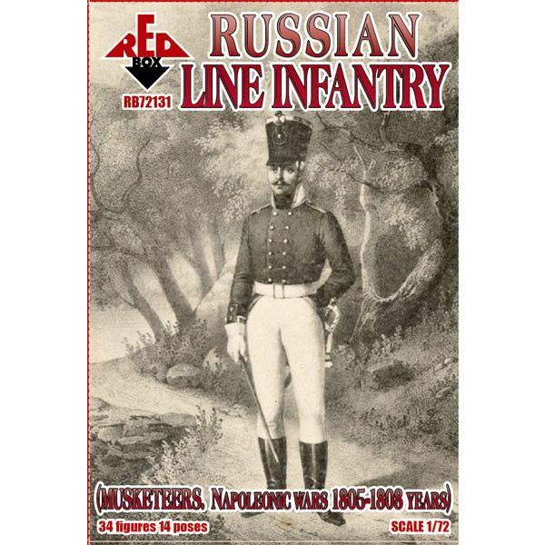 【新製品】72131 ナポレオン戦争 ロシア戦列歩兵 1805-1808年