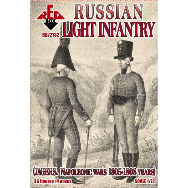 【新製品】72132 ナポレオン戦争 ロシア軽歩兵 1805-1808年