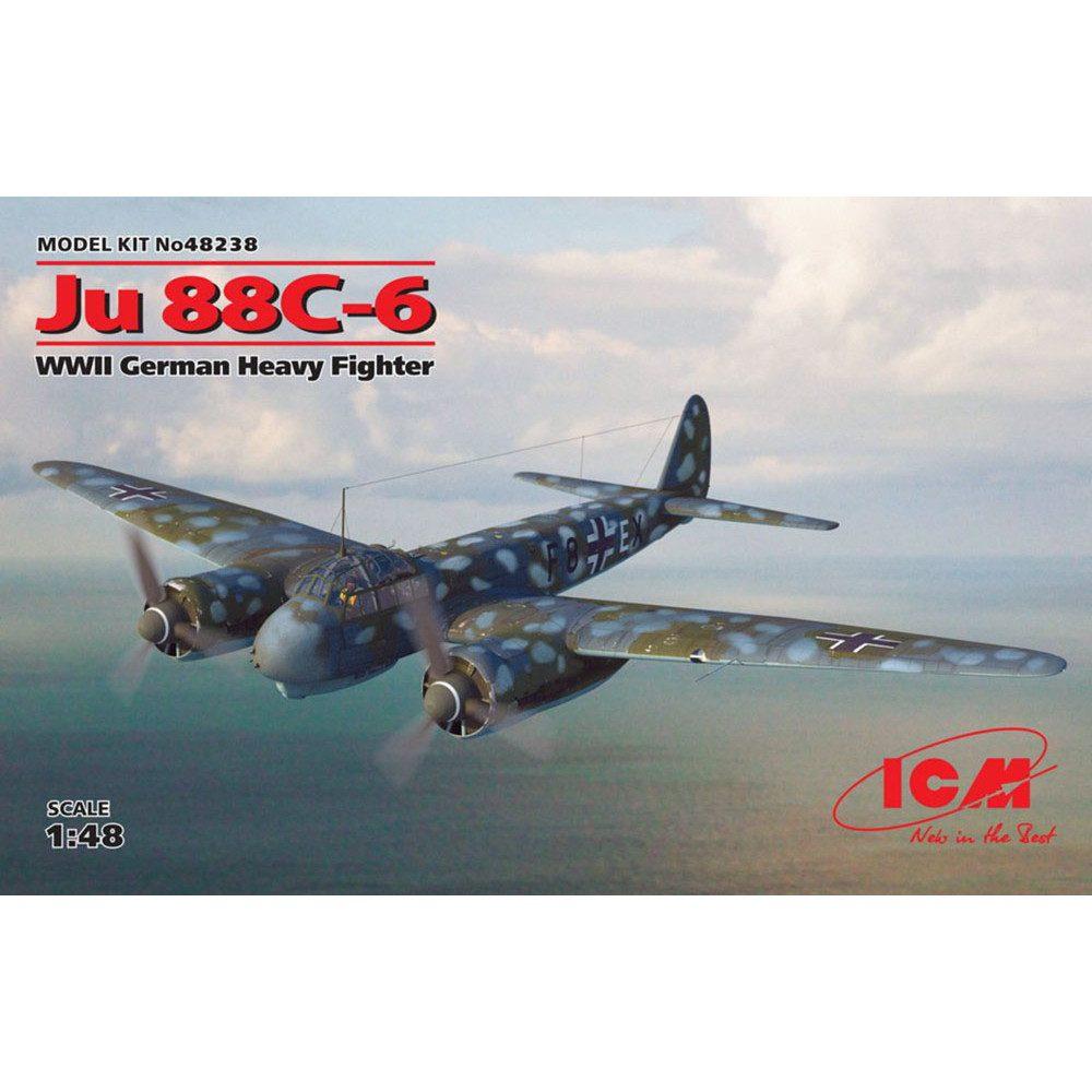 【新製品】48238 ユンカース Ju88C-6 重戦闘機