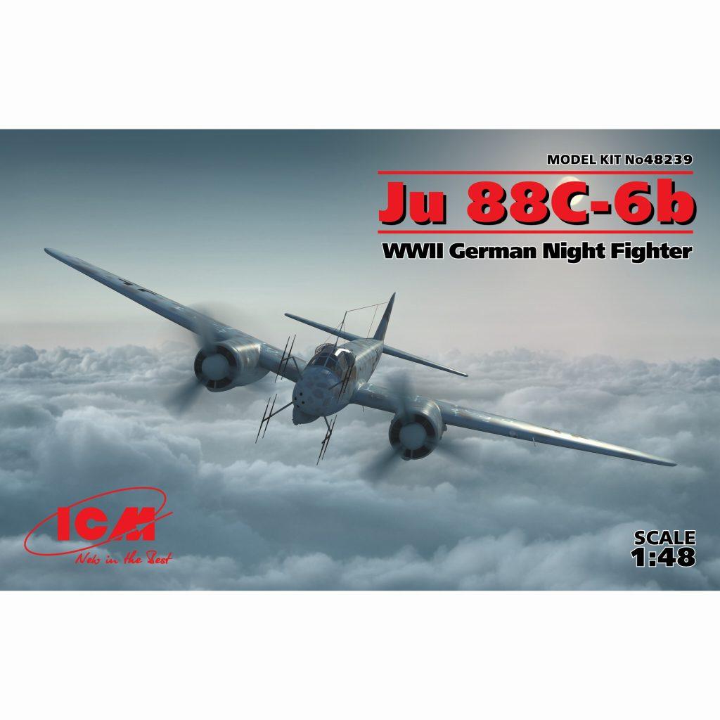 【新製品】48239 ユンカース Ju88C-6b 夜間戦闘機