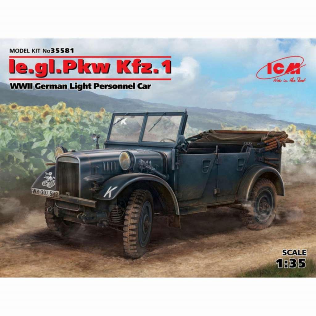 【新製品】35581)ドイツ le.gl.Pkw Kfz.1 軽四輪駆動乗用車