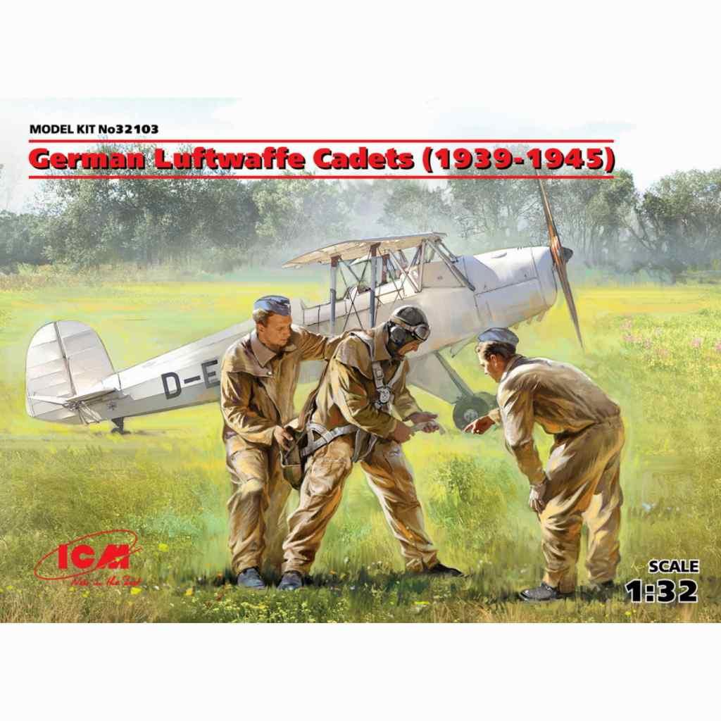 【新製品】32103 ドイツ空軍 士官候補生セット(1939-1945)