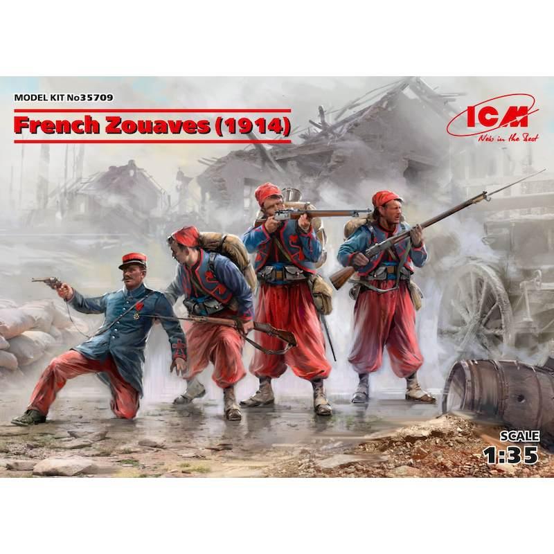 【新製品】35709 フランス ズアーブ兵 (1914)