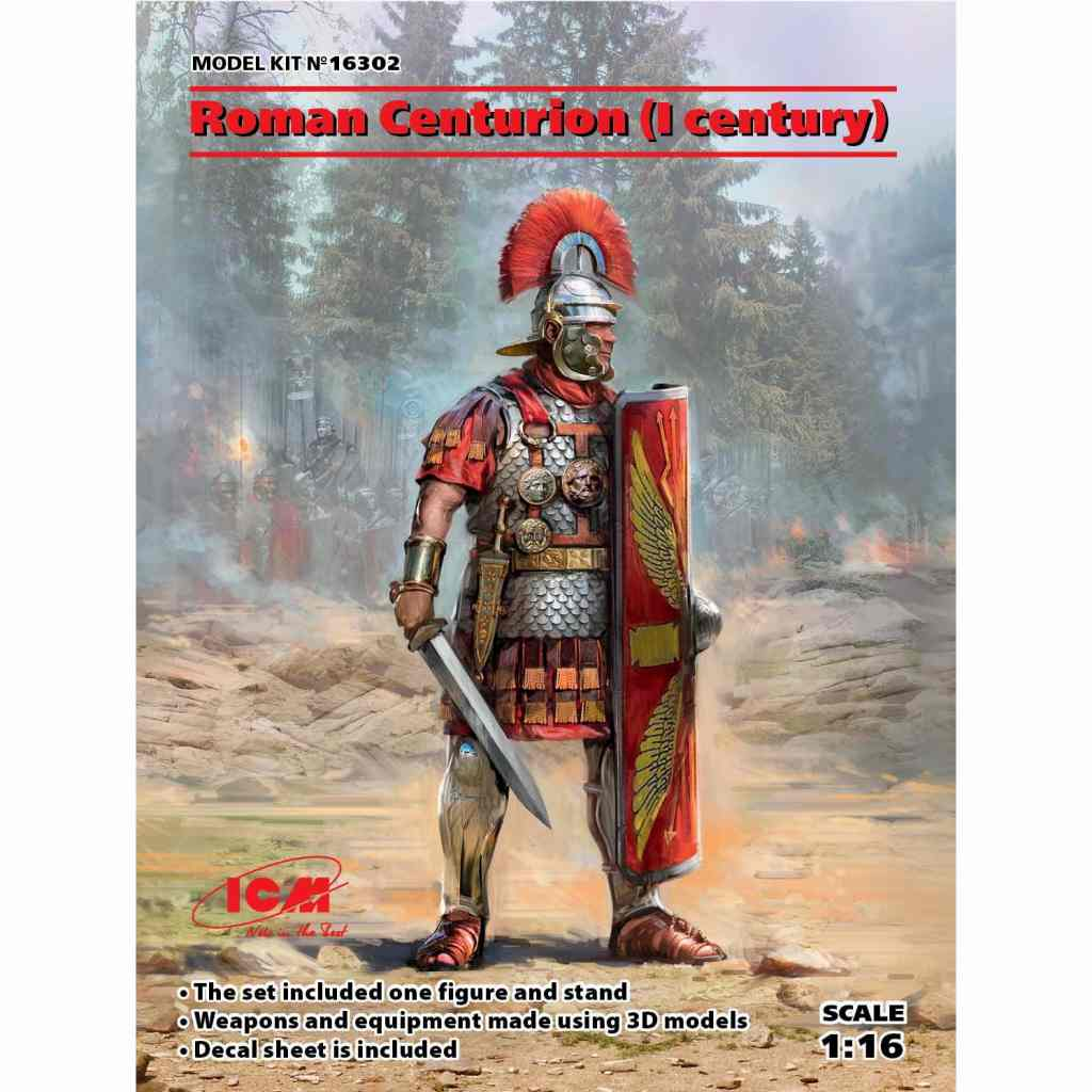 【新製品】16302 古代ローマ 百人隊長(1世紀)