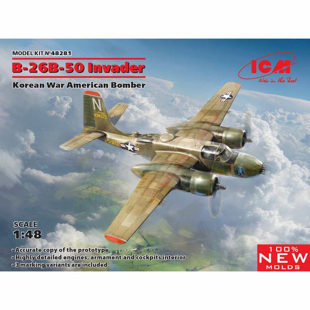"""【新製品】48281 ダグラス B-26B-50 インベーダー """"コリアンウォー"""""""