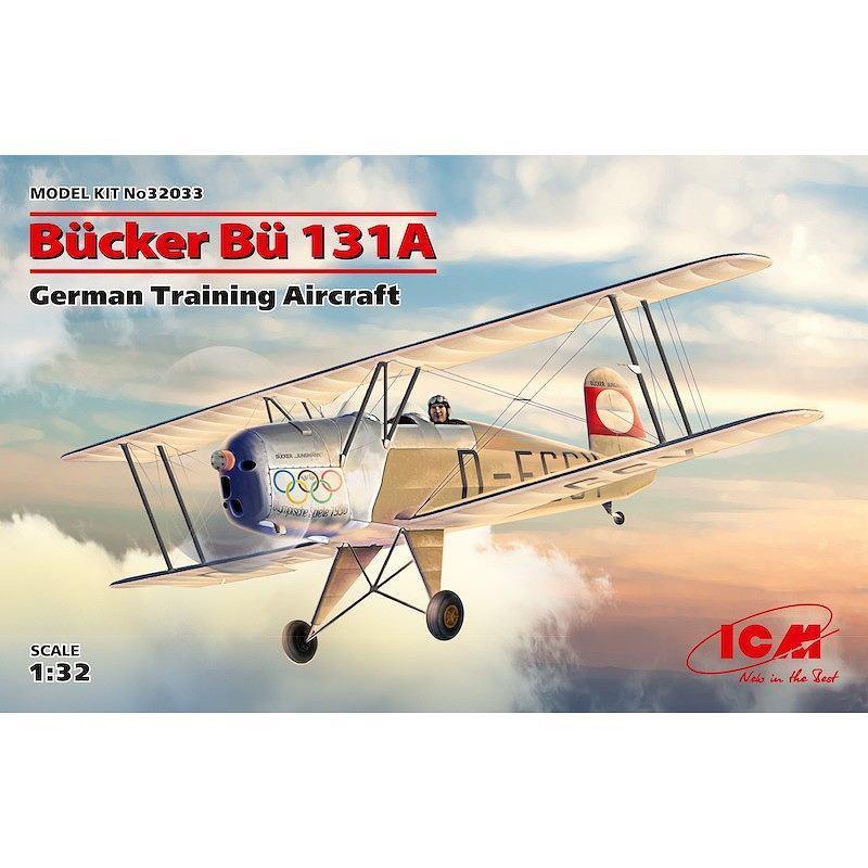 【新製品】32033 ビュッカー Bu131A ドイツ練習機