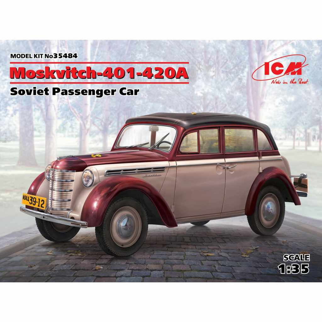 【新製品】35484 ソビエト モスクヴィッチ 401-420A