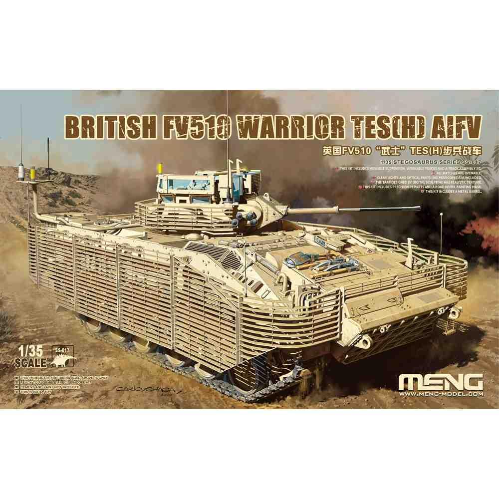 【新製品】SS-017 イギリス歩兵戦闘車 FV510 ウォーリアTES(H)