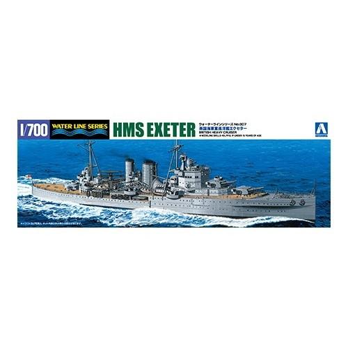 【新製品】WL807 英国海軍 重巡洋艦 エクセター