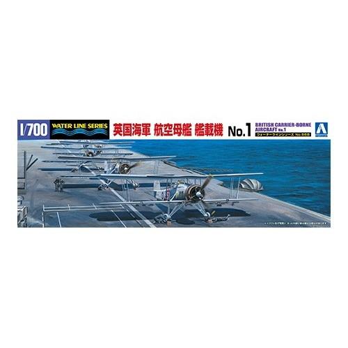 【新製品】WL568 英国海軍 航空母艦艦載機 No.1