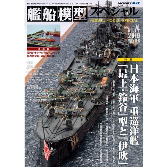 【新製品】艦船模型スペシャルNO.74 日本海軍 重巡洋艦「最上・鈴谷」型と「伊吹」