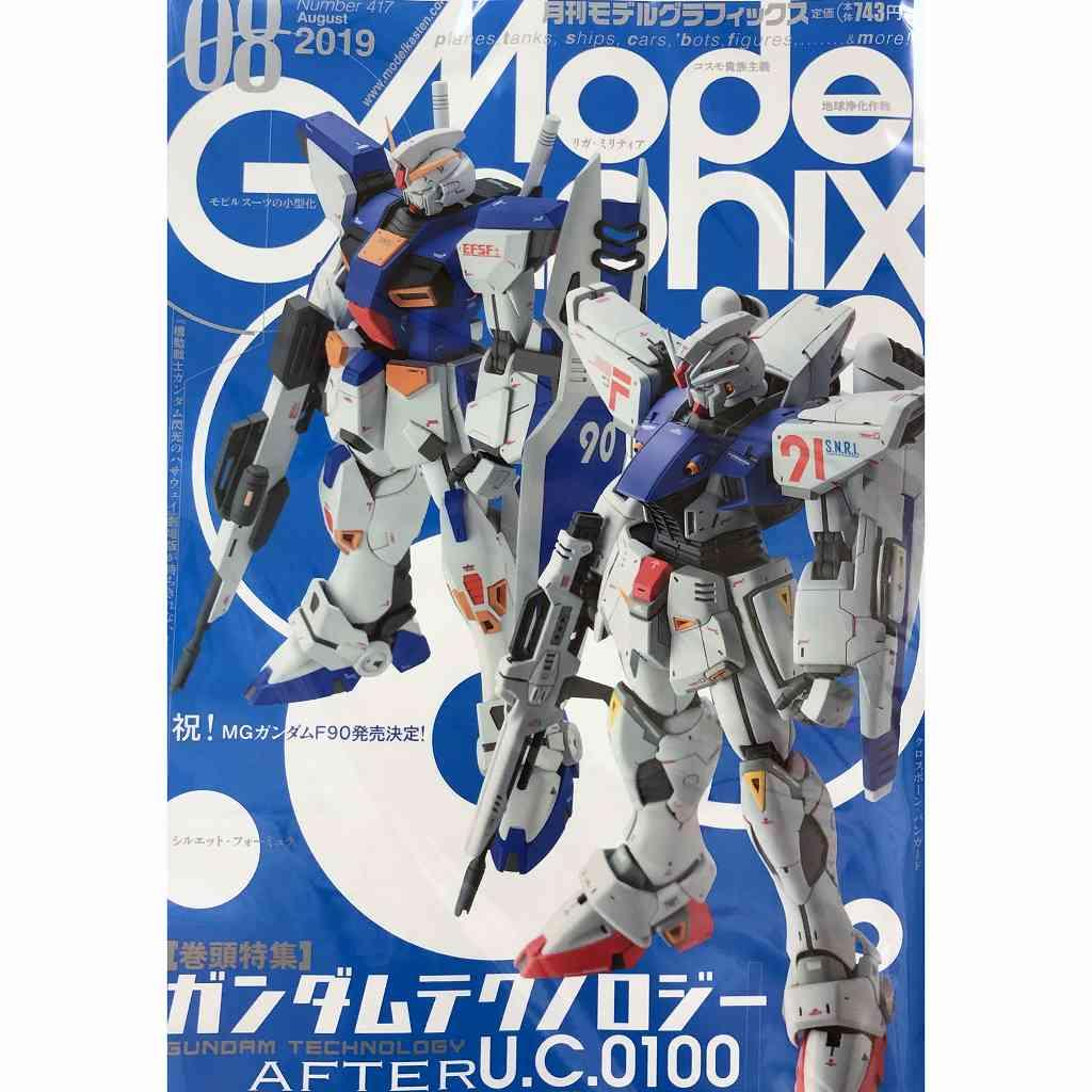 【新製品】モデルグラフィックス Vol.414 2019年5月号 ガンダムテクノロジー U.C.0097