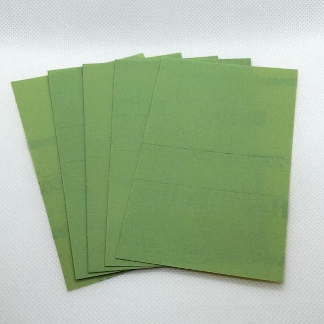 【新製品】バフレックス グリーン K-2000 5枚セット 2000番相当